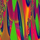 Psychedelic Tapestry by Dana Roper
