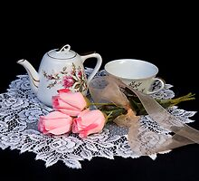 Tea Time by Trudy Wilkerson