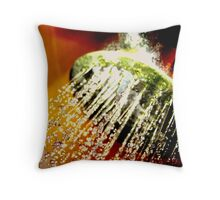 Colour In The Shower Throw Pillow