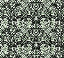 Tattoo Lace Seamless Pattern. by Laces