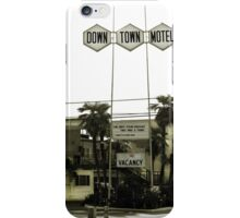 Motel - No Vacancy! One Night Stand Discount Available iPhone Case/Skin