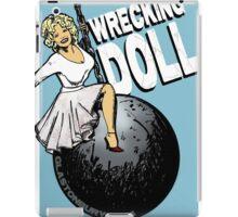 Wrecking Doll (blue) iPad Case/Skin