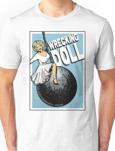 Wrecking Doll (blue) Unisex T-Shirt