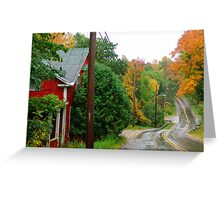 Rainy Day In Bear River Greeting Card
