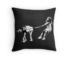 Banksy Star Wars Throw Pillow