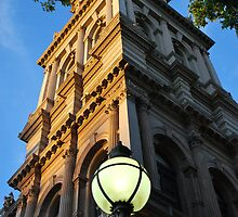 Bendigo's Old Post Office, detail. by Lozzar Flowers & Art