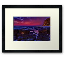 """Morning Below The Bluff"" Framed Print"