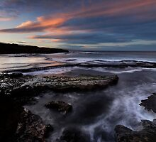 Morning Light on Morningtons by Robert Mullner