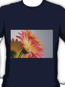 Flower on Gray T-Shirt