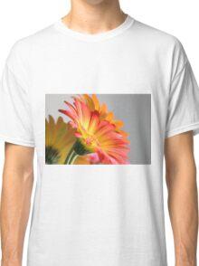 Flower on Gray Classic T-Shirt