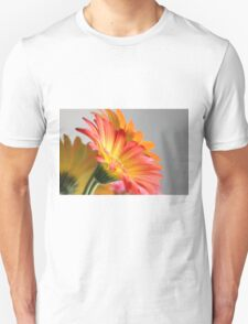 Flower on Gray T-Shirt