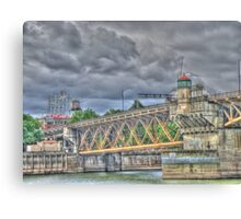 Portland Or Bridge 1 Canvas Print