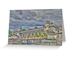 Portland Or Bridge 1 Greeting Card