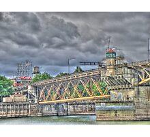 Portland Or Bridge 1 Photographic Print