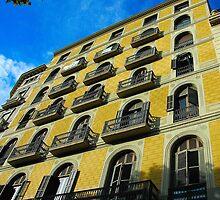 """City Life - """"Balconies, Windows, Shutters"""" by Denis Molodkin"""