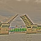 Portland Or. Bridge    by pdsfotoart