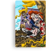 The Death of Cowman  Canvas Print