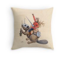 On Guard for Thee (Print) Throw Pillow
