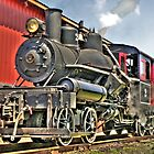 Little steam engine by pdsfotoart
