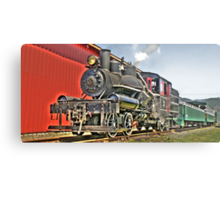 Little steam engine Metal Print