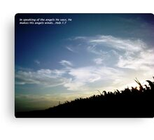 Angels Winds Canvas Print