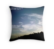 Angels Winds Throw Pillow