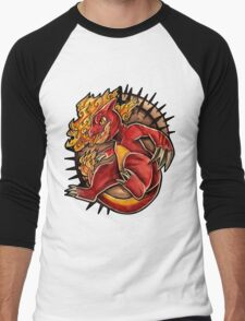 Charmeleon  Men's Baseball ¾ T-Shirt