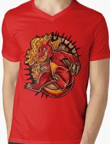 Charmeleon  Mens V-Neck T-Shirt
