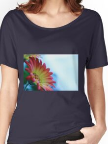 Red on Blue 2 Women's Relaxed Fit T-Shirt