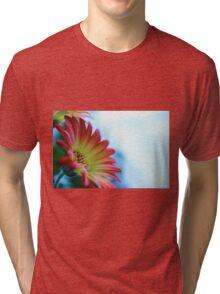 Red on Blue 2 Tri-blend T-Shirt