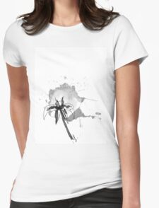 Water(color) lily Womens Fitted T-Shirt