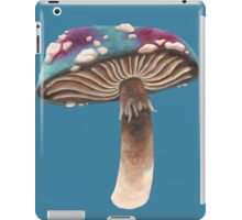 Purple and Blue Spotted Toadstool iPad Case/Skin