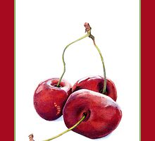 Three Cherries by Mariana Musa