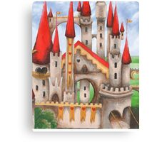 Hearts and Turrets Canvas Print