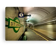 St James express Canvas Print