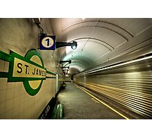 St James express Photographic Print