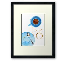Coffee Break Framed Print