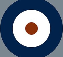 Royal Air Force - Historical Roundel Type A 1937 - 1942 by wordwidesymbols