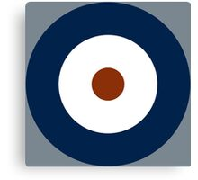 Royal Air Force - Historical Roundel Type A 1937 - 1942 Canvas Print