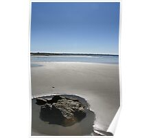 Beach Front - Jersey, Channel Islands Poster