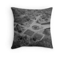 The Cloud Yard Throw Pillow