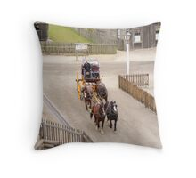 Geelong to Ballarat Coach Throw Pillow