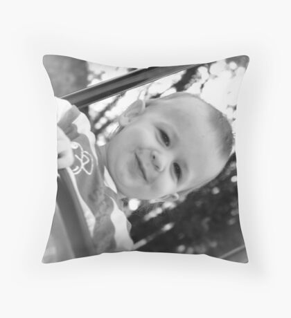 Happy Boy Throw Pillow