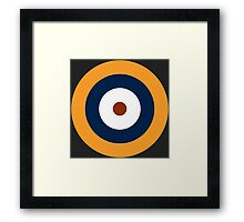 Royal Air Force - Historical Roundel Type A.1 1937 - 1939 Framed Print