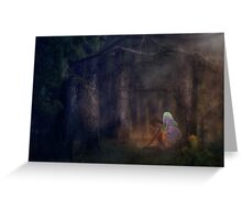 Forest Fairy 2 Greeting Card