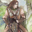 Tiernan Riding by morgansartworld