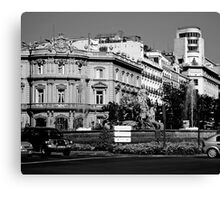 "City Life - ""City Symbol"" Canvas Print"