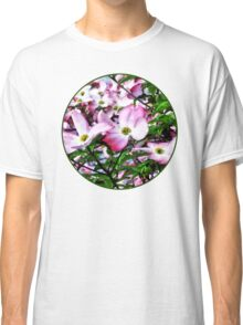 Pink Dogwood Blossoms Classic T-Shirt