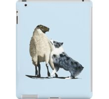 "Australian Shepherd ~ ""One Tough Sheepdog"" painting iPad Case/Skin"