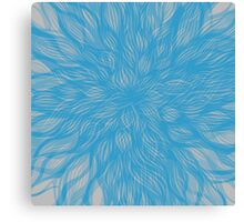 floral blur Canvas Print